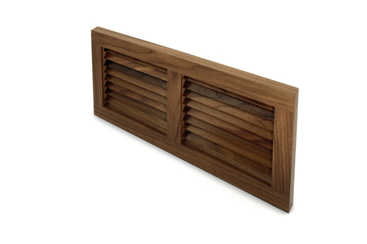 Wall Mount Cold Air Return's are placed on a wall in between your baseboard, as a toe kick in cabinetry.  They are designed to sit flush, but can also be made self rimming.