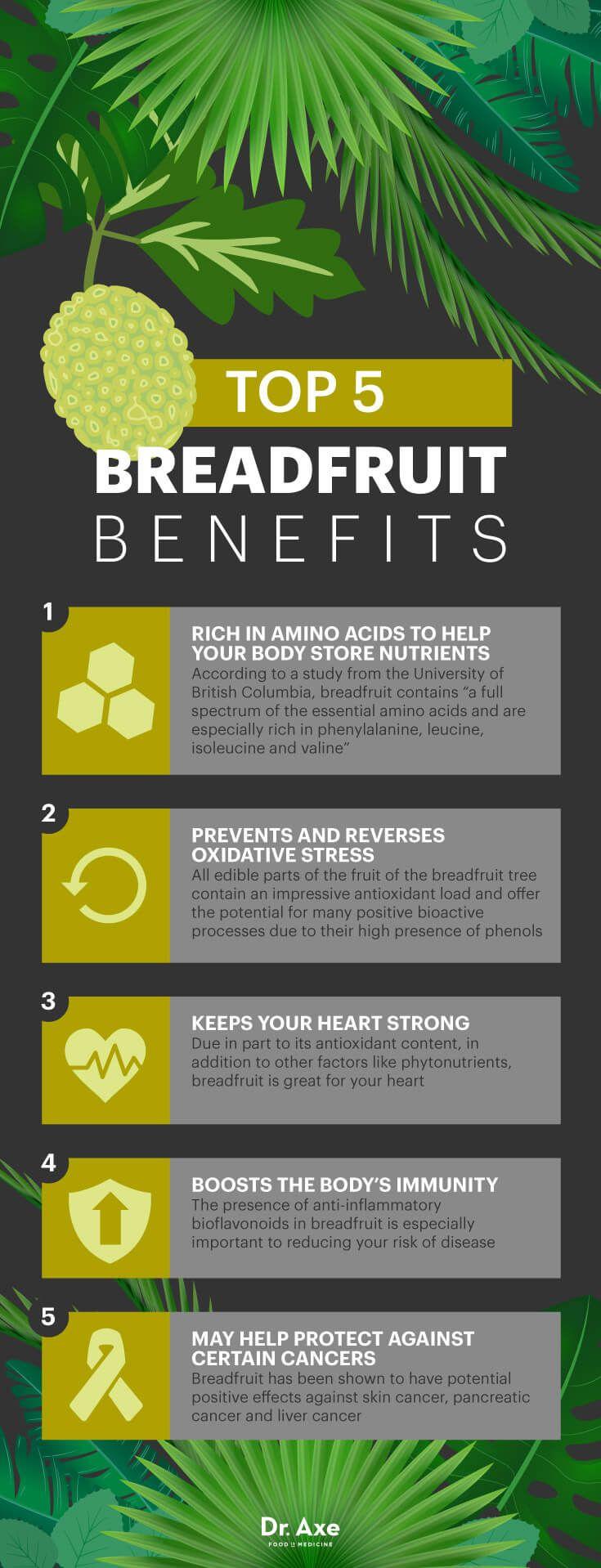 Breadfruit benefits - Dr. Axe http://www.draxe.com #health #holistic #natural