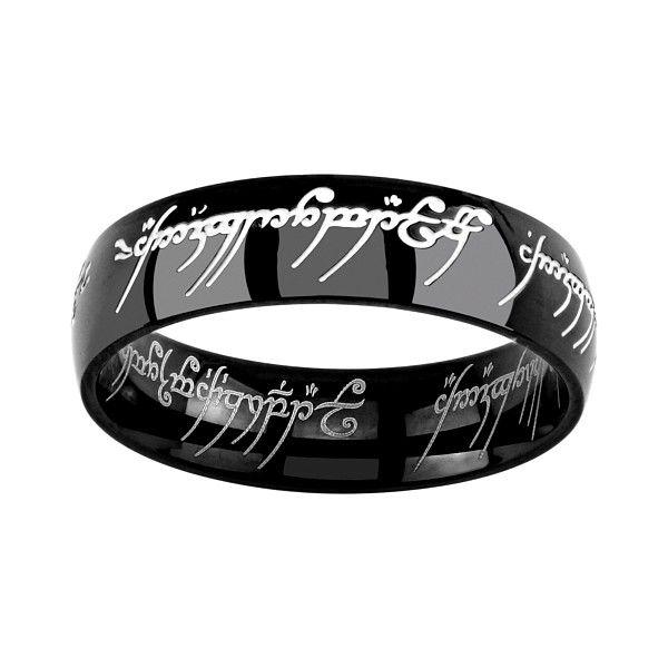 Prsten Silvego z chirurgické oceli Pán prstenů RRC2210 velikost 48