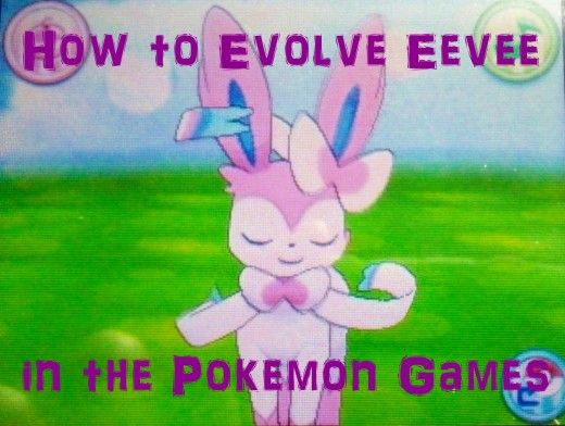 Learn how to evolve #Eevee in all of the #Pokemon games, including the locations of elemental stones, Pokemon groomers, Moss and Ice Rocks, and how to use #Pokemon-Amie!