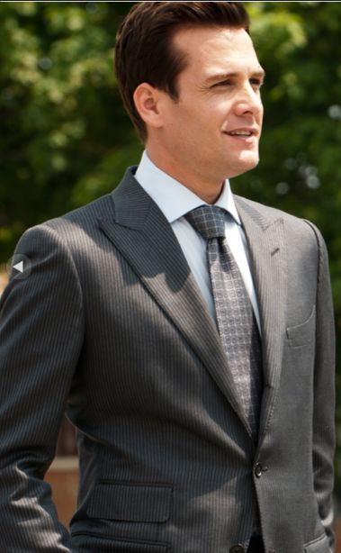 Gabriel Macht as Harvey Spector in the show Suits...I love it when men look classy :)