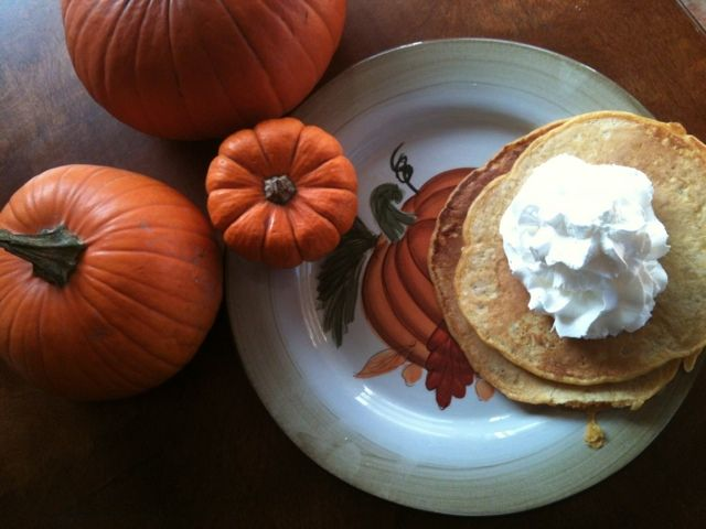 pumpkin pancakes | pumpkin and sweet potato recipes | Pinterest