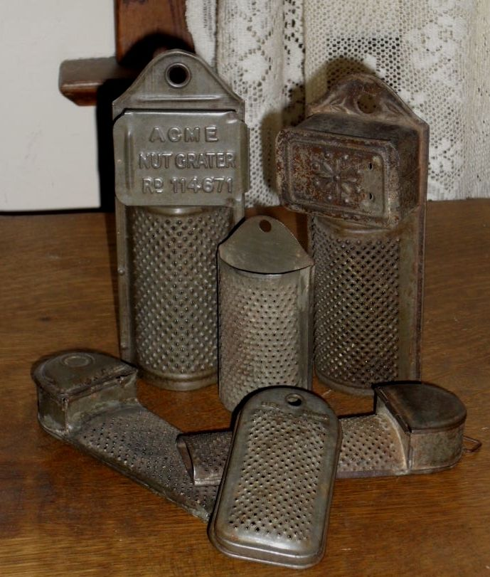 Graters From My Collection ...Ohio's Attic
