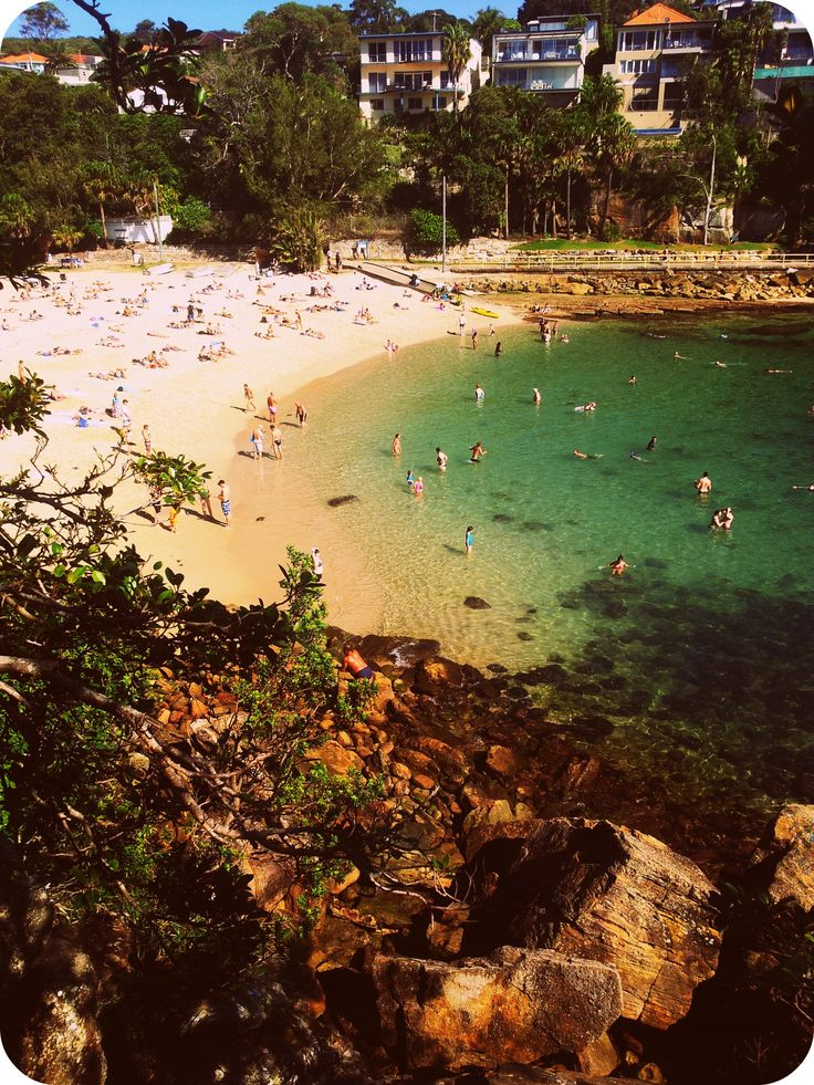 Shelly Beach in Manly... #manlybeach  #sydney - Sydney, Australia.