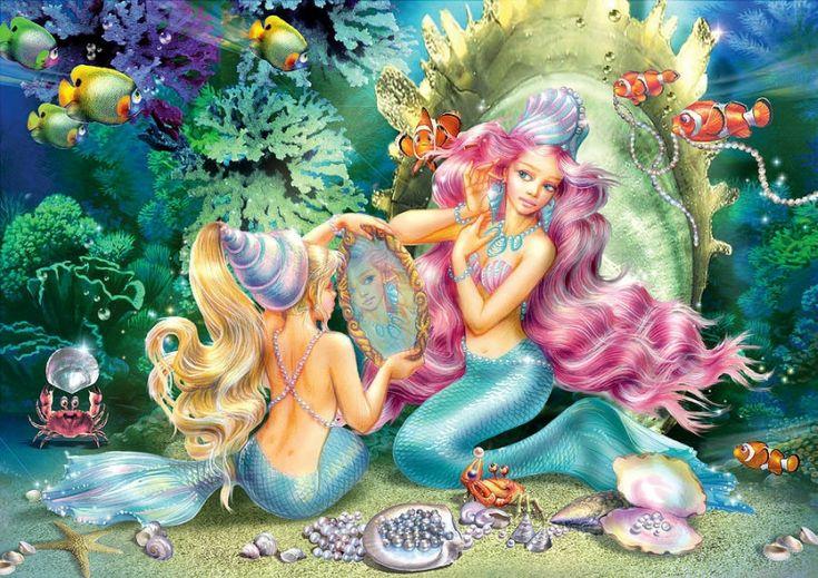 зонтик картинки на телефон с феями и русалками через