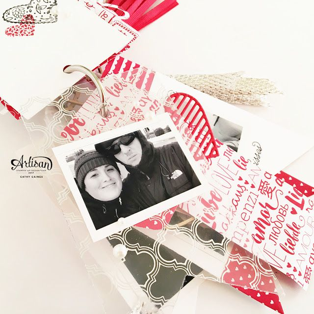 In The Cat Cave: Sealed With Love mini album | Stampin' Up! Artisan Design Team Blog Hop