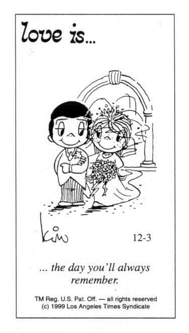 "Love Is Cartoons By Kim | 50 Cute ""Love Is"" Comics by Kim Casali"