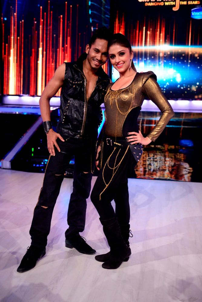 Actress Aarti Chhabria with choreographer Cornell #Bollywood #Fashion