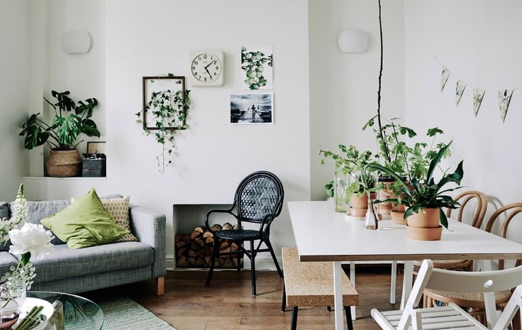 Take a tour of Melia's apartment in London, where she uses easy updates to make a rented space feel homely