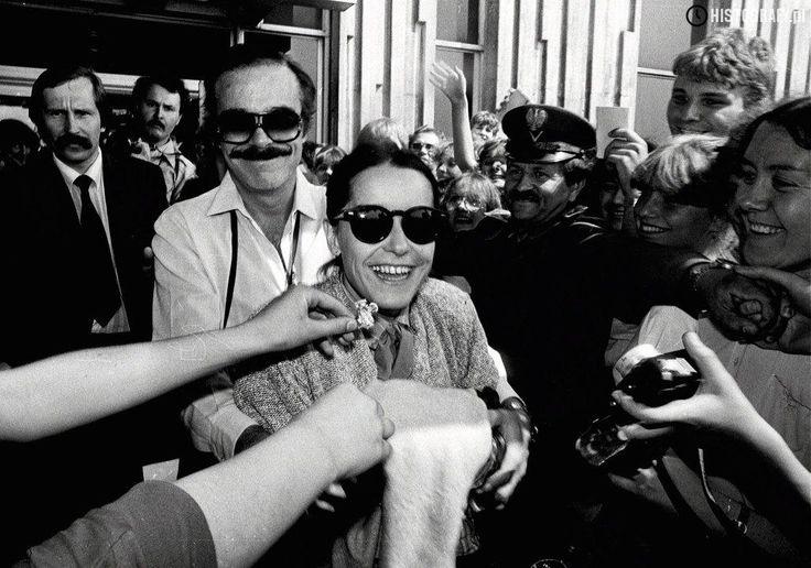 Rubens de Falco i Lucelia Santos, gwiazdy brazylijskiej telenoweli ''Niewolnica Isaura'', która podbiła serca polskich widzów prawie 30 lat temu. Na fali p