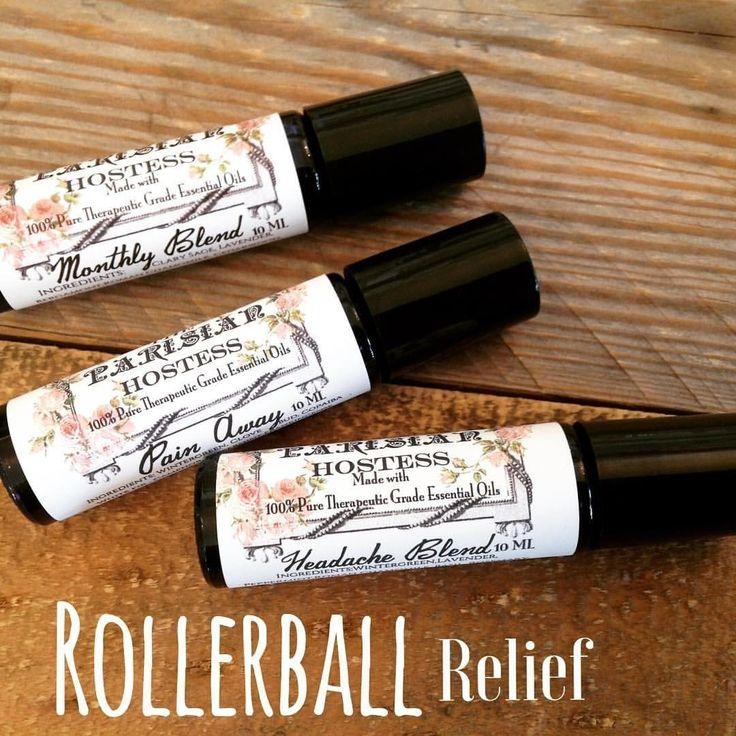 Headache Relief Rollerball- Certified Therapeutic Grade Essential Oil 10 ML