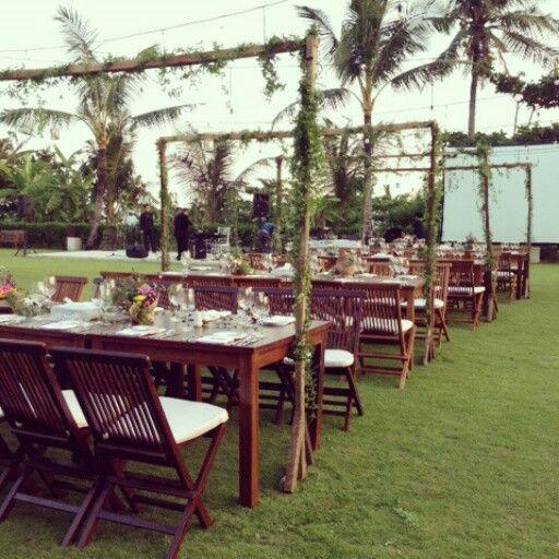 78 best peach theory decor design jakarta images on pinterest outdoor wedding decoration in bali junglespirit Gallery