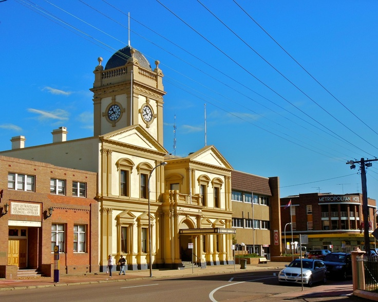 Maitland Town Hall, Hunter Valley (near Newcastle) NSW (1888 construction)