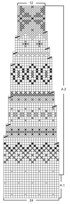 "Gebreide DROPS poncho, muts en polswarmers met Fair Isle patroon van ""Alpaca"". Maat: S - XXXL. ~ DROPS Design"