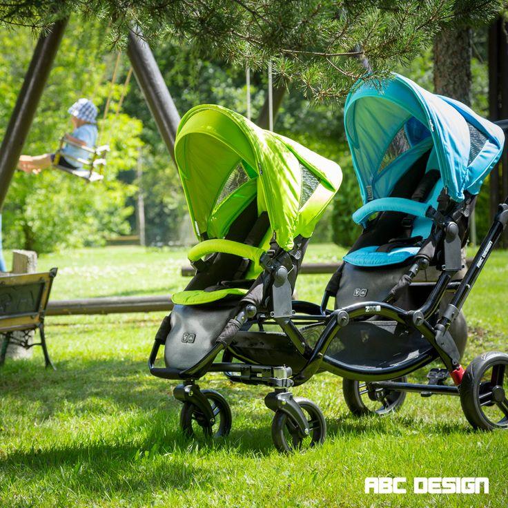 Geschwisterwagen Zoom | Zoom double/twin buggy