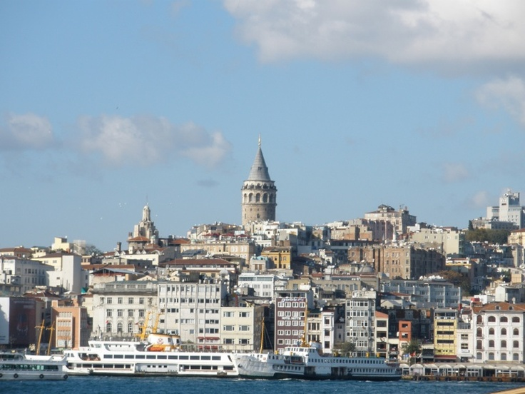 Galata tower by day