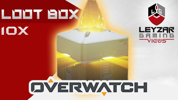 Overwatch - Opening 10x Loot Box (Kinder Effect Achieved)