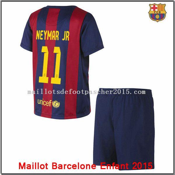 Maillot Football Barcelone Neymar JR Enfant 2014 2015 Domicipromo