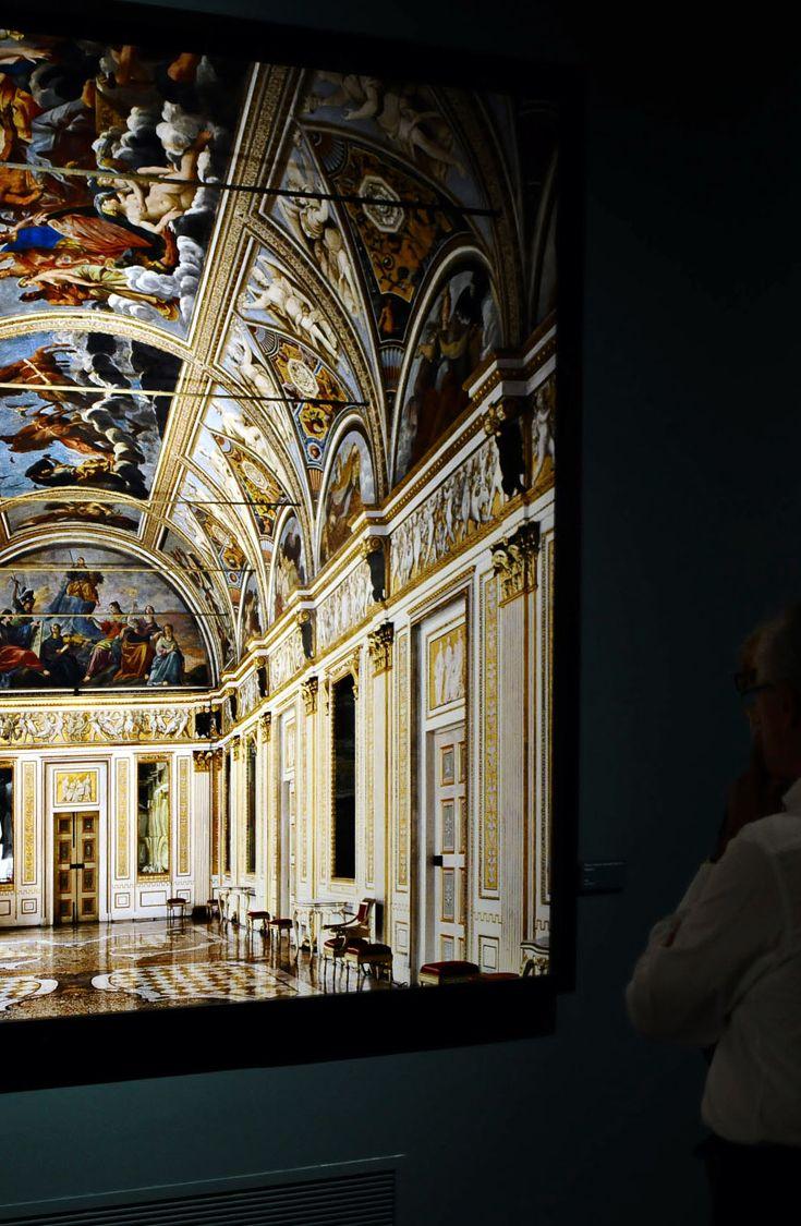 Luxury Living Vernissage Massimo Listri 'Prospettive' in the Museo San Domenico Forlì. September 6, 2014