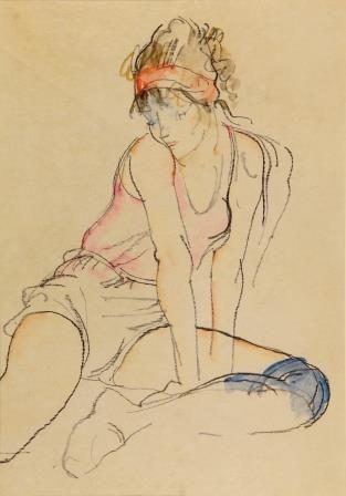 Donald Hamilton Fraser | Seated Dancer