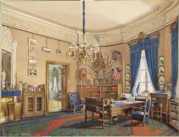 Интерьер домов в произведениях живописи