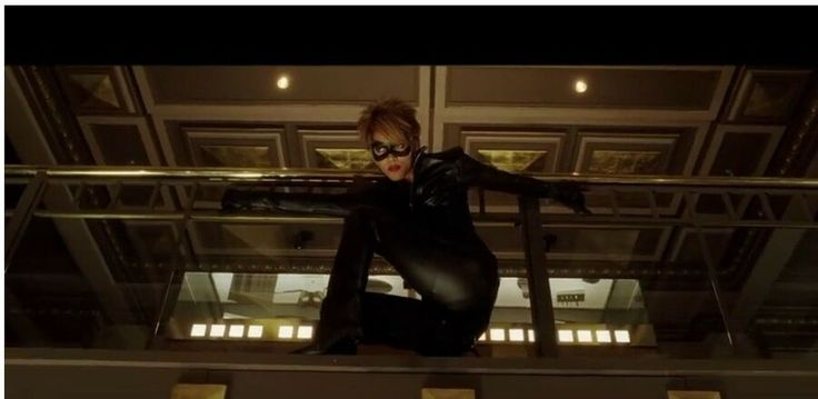 Catwoman 2004 movie prop stunt halle berry full lace front