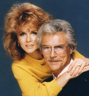 Ann Margaret with hubby Roger.