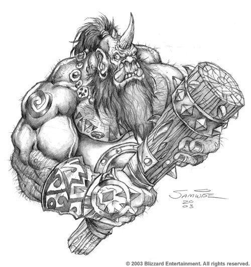 http://samwisedidier.deviantart.com/art/Warcraft-Ogre-450470401