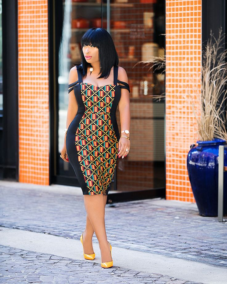 Fashion Dresses 2019: The Best African Print Dress Styles For Ladies 2019