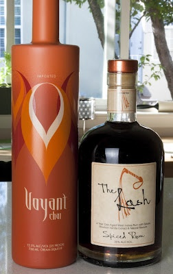 """These two items are amazing!  A great spiced rum """"The Lash"""" and an incredible Voyant Chai Cream Liqueur!!"""