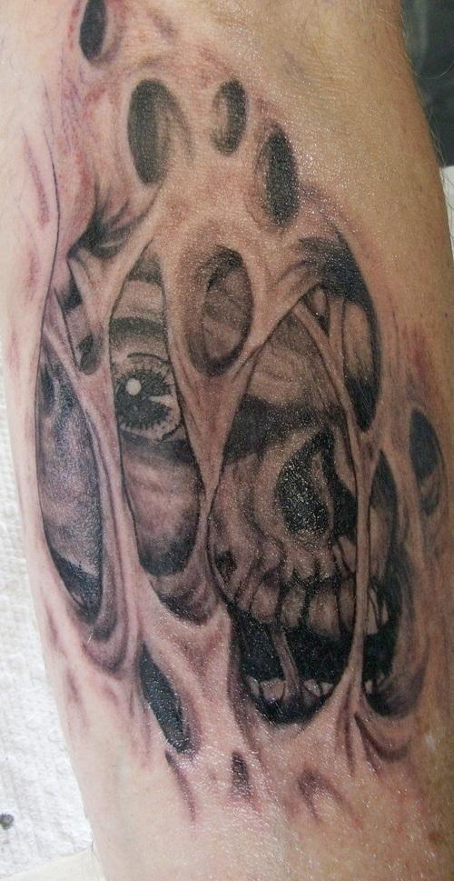 3d evil tattoo design ideas art wallpaper tattoo design - Wicked 3d tattoos ...