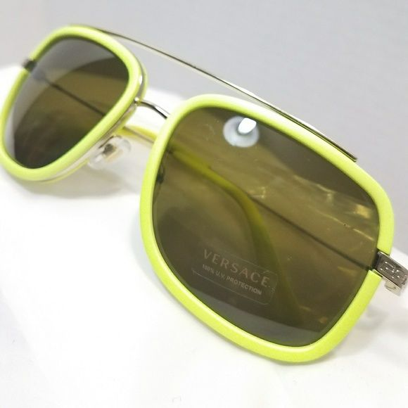 b865b4803c6a Versace volt yellow sunglasses New without box. Fast shipping from NYC See  pictures Versace Accessories