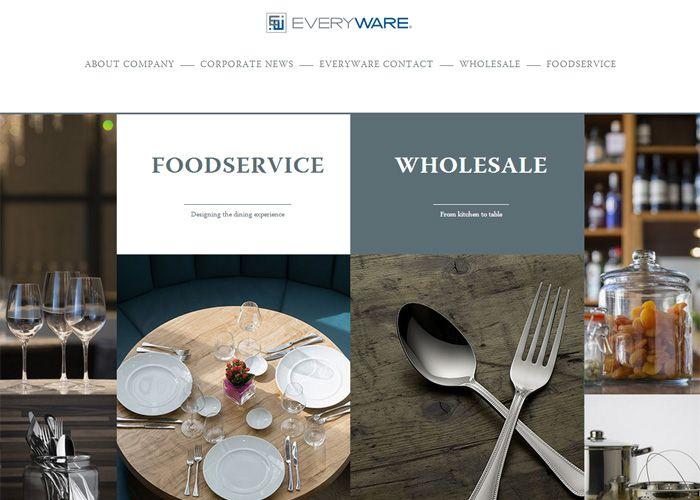 EveryWare Global / Oneida Ltd. #webdesign #inspiration #UI