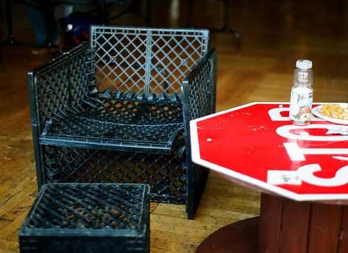 Product Hacking Modifying And Customizing Everyday Products. Milk Crate  ChairsMilk . Ideas