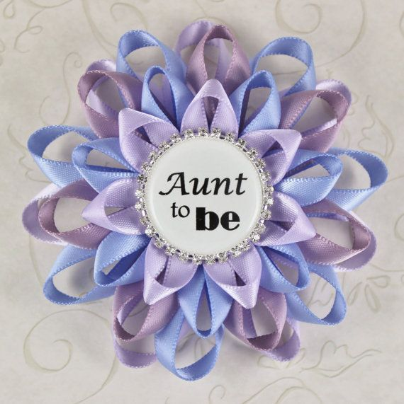 Aunt Gift Aunt to Be Gift New Aunt Gift Baby by PetalPerceptions