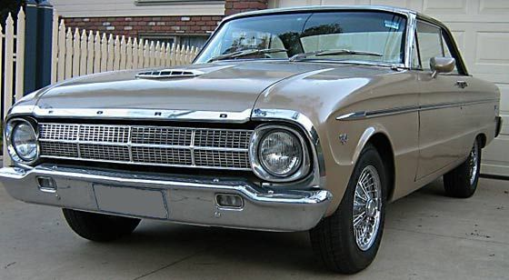 1964 XM Ford Falcon Coupe (Australian built)