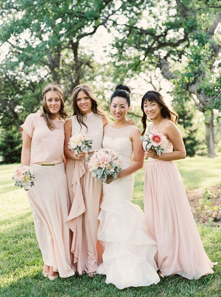 45 Best Bridesmaids Blush Images On Pinterest Wedding