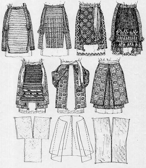 Ukrainian women's kind of skirt -- Plakhta. Украинска яженская народная поясная…