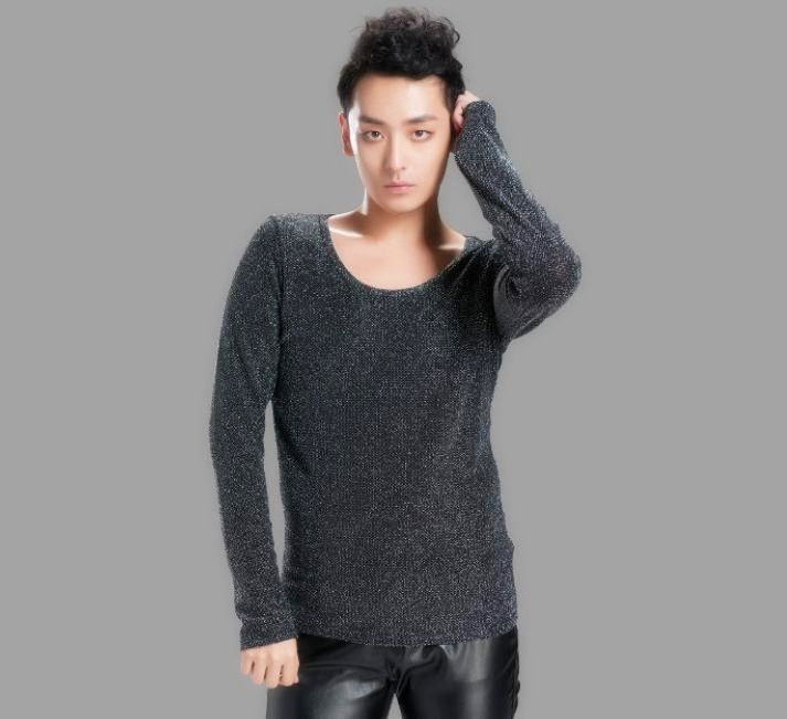 summer outfits men Spring Dazzling Sparkling Personality Plus Size Long Sleeve T-shirt Costumes Men Clothes Fashion 2016 Famous Brand T Shirt Men -- AliExpress Affiliate's Pin.  Click the image for detailed description on AliExpress website