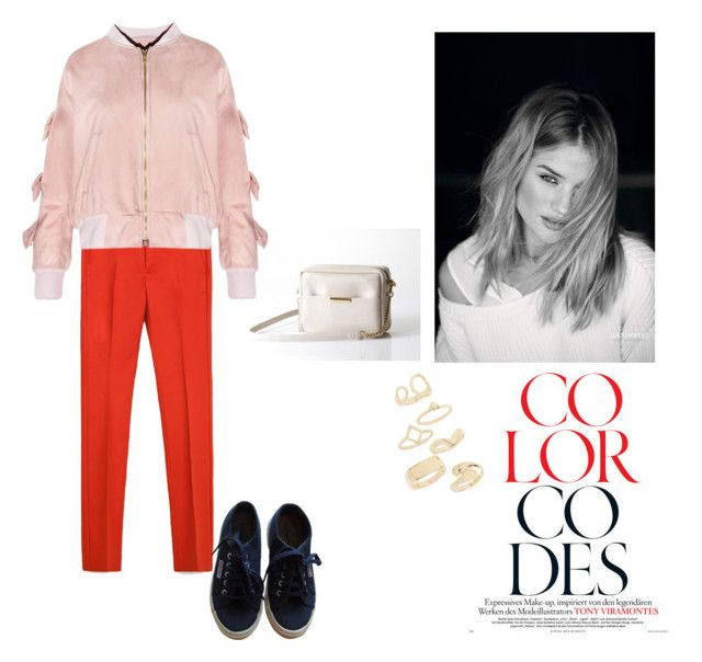 """""""colour codes"""" by opelle-creative on Polyvore featuring Issa, Zara, Superga, Topshop and opellebags"""