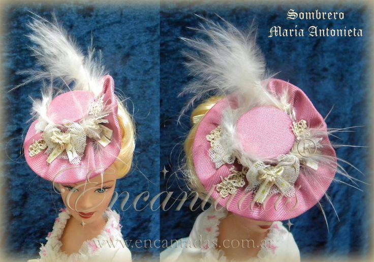 Maria Antonieta sombrero by Encantadas.deviantart.com on @DeviantArt