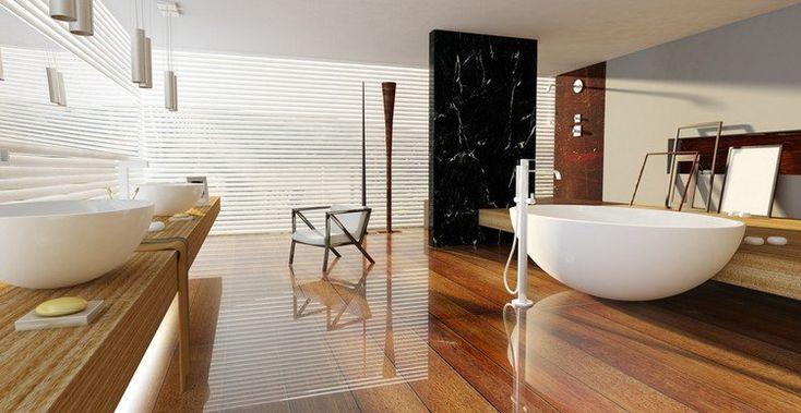 Parquet salle de bain - pour ou contre sa pose dans les pièces humides ?
