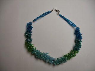 ketting haken, halsketting, www.creadiva.be, rocailles, sieraden maken ,