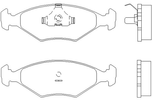 INNOCENTI - ELBA -  Mintex Brake Pads at Low cost