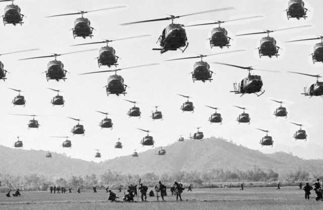 Flock of Hueys / Vietnam war                                                                                                                                                      More