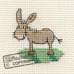 Tiddlers Cross Stitch Kit - Donkey - Giggle Squiggle