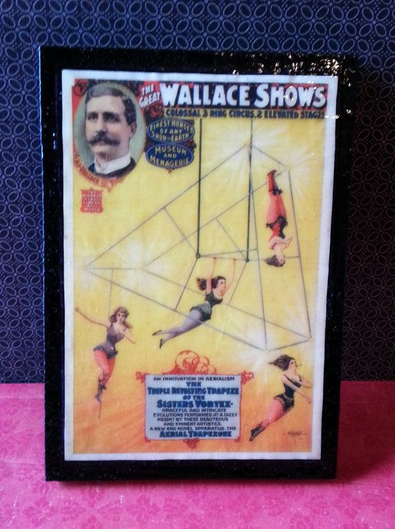 The Great Wallace Shows Vintage Victorian Circus by AlphachicsEDEN, $10.00