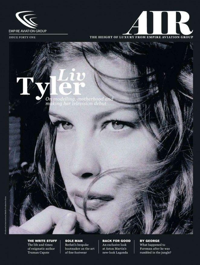 Liv Tyler – AIR Empire Aviation Magazine (October 2014)