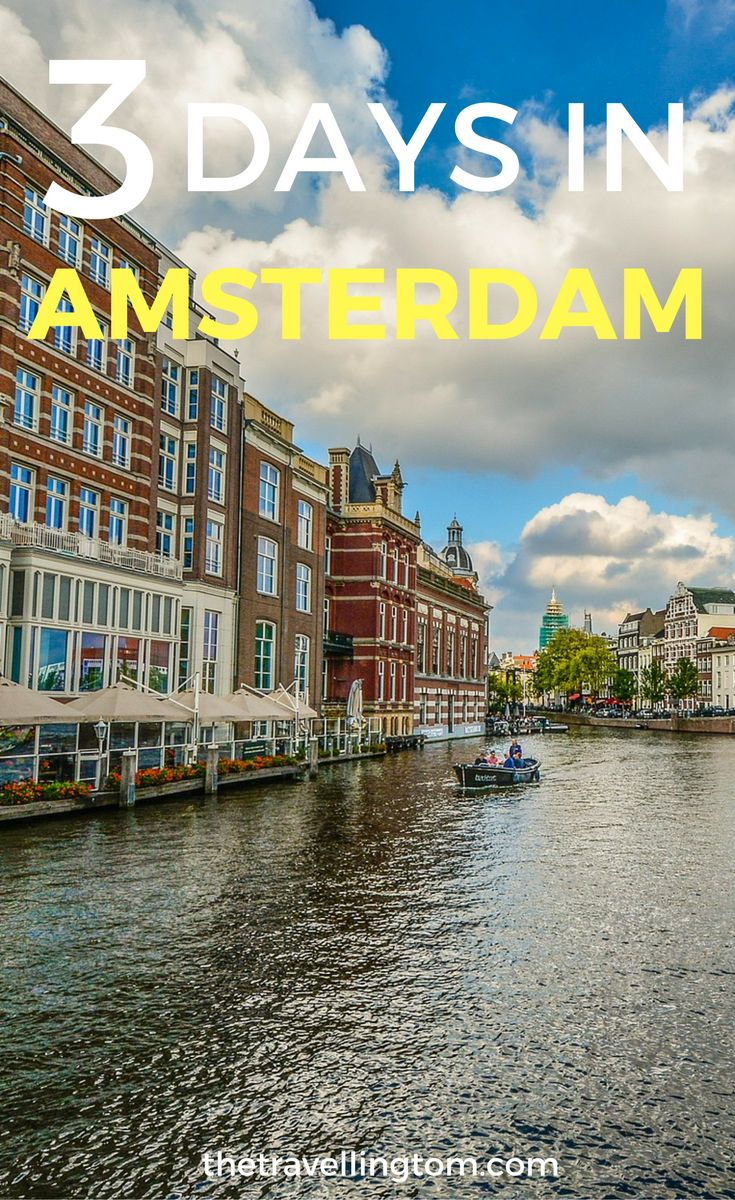 3 days in Amsterdam itinerary for those visiting the beautiful Dutch capital! Includes things to do in Amsterdam, what to do in Amsterdam and where to stay in Amsterdam. Don't visit Amsterdam without checking this guide!