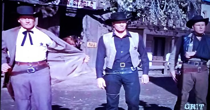 "The Earp brothers in ""Wichita"""